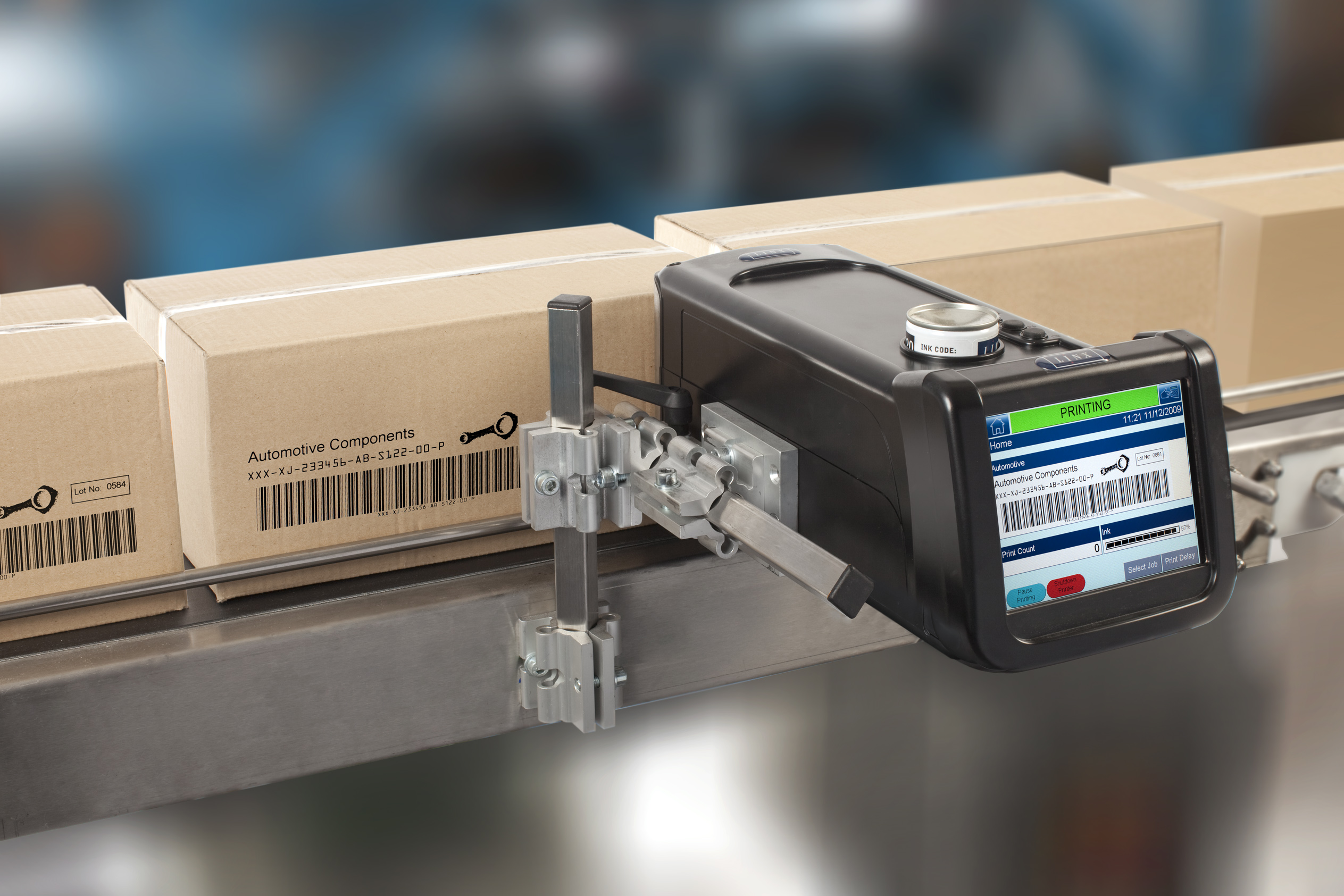 Xaar Industrial Inkjet For Coding And Marking Applications