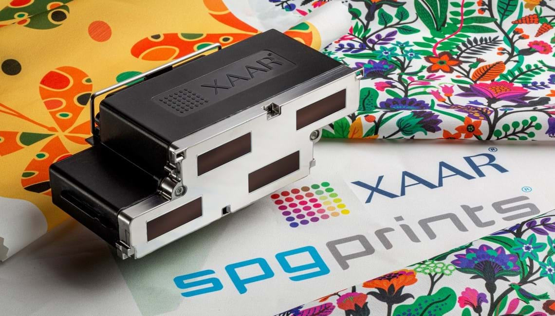 Technology collaboration between SPGPrints and Xaar