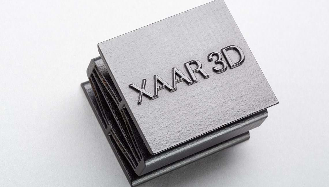 Xaar 3D Ltd investment