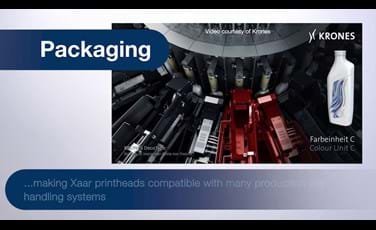 Xaar Packaging sector